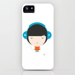 Helmet Girl: Jam iPhone Case