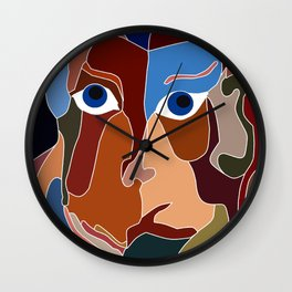 Abstract God Wall Clock
