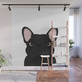 Frenchie - Black Brindle Wall Mural