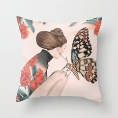 March Meeting  Throw Pillow