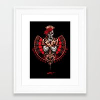 nurse Framed Art Prints featuring Nurse by Davide Ferri