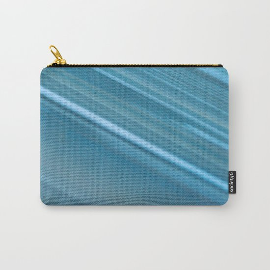 LINES OF BLUE #1 #decor #art #society6 Carry-All Pouch