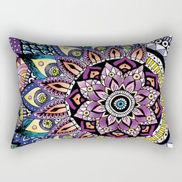 asymeric yoga inspiration Rectangular Pillow