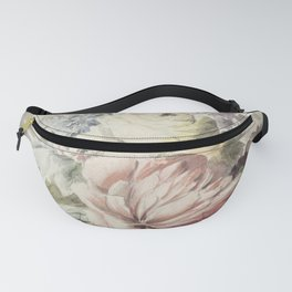 Flowers lying on a plinth (1700-1800) by anonymous Fanny Pack