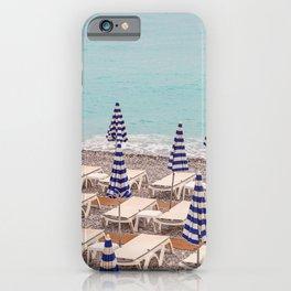 Beach Umbrellas in Nice iPhone Case