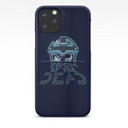 Tron Of The Dead iPhone Case