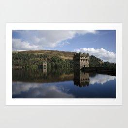 Derwent dam upper level Art Print