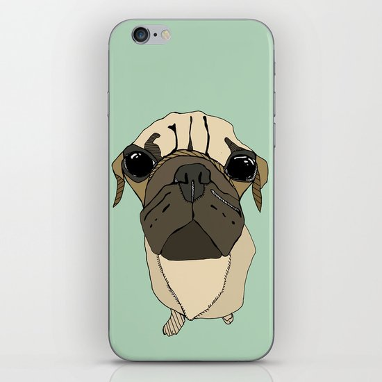 Puglet iPhone & iPod Skin