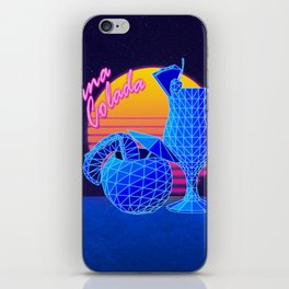Pina Colada Retro iPhone Skin