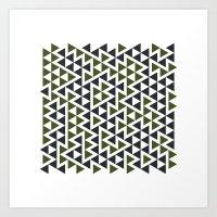 #458 Trap – Geometry Daily Art Print