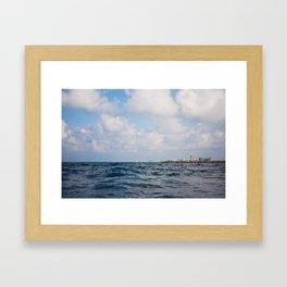 Panama City Beach Framed Art Print