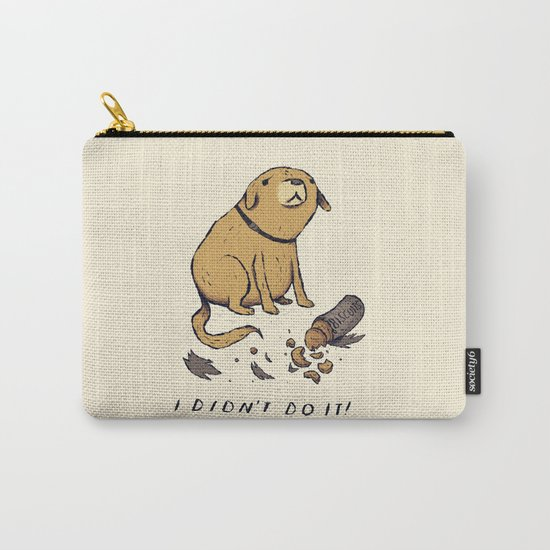 guilty dog Carry-All Pouch