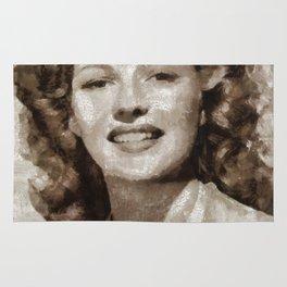 Rita Hayworth by MB Rug