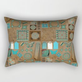 Paper Bird Rectangular Pillow