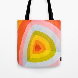 Rainbow Abstract Art Tote Bag