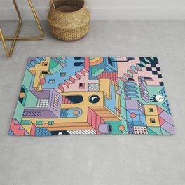 80's Escher Rug