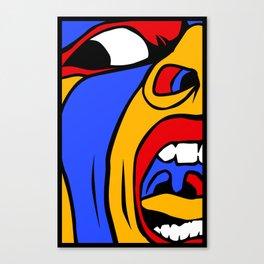Screamer Canvas Print