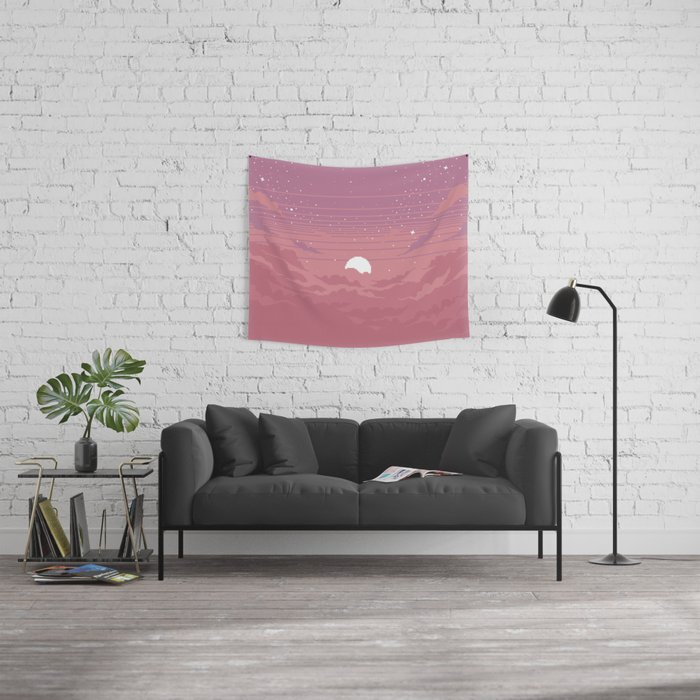 Moonburst Wall Tapestry