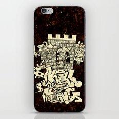 kill the king. iPhone & iPod Skin