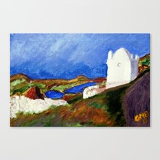 Una Vista de Ardales Canvas Print