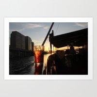 HK J&C Art Print
