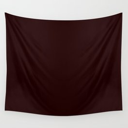 Delirious Place ~ Dark Red-brown Wall Tapestry