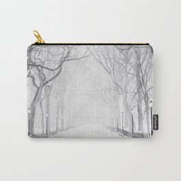Snowy Park Carry-All Pouch