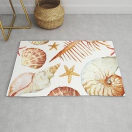Sea Life Pattern 09 Rug
