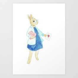 This one goes out to the Bun I love Art Print