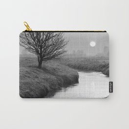 Misty Sunrise On The River Carry-All Pouch