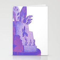 ducks Stationery Cards featuring Ducks by Brittany Bennett