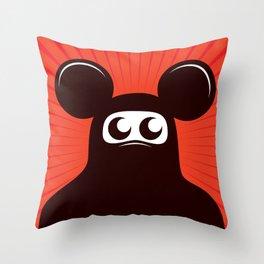 Niqab mouse Throw Pillow