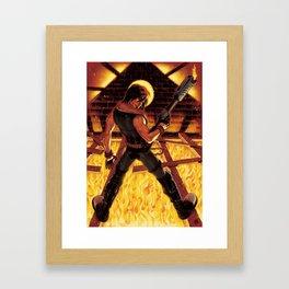 Vince the Bounty Hunter Framed Art Print