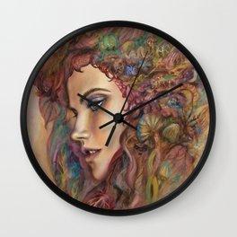 Psilocybin Awakening Wall Clock