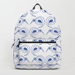 Cornflower blue kiwis Backpack