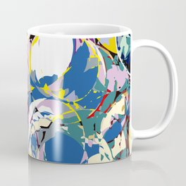 circle color fractures Coffee Mug