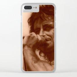 'AC/DC Mosaic I' Clear iPhone Case