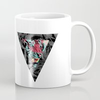 tiger Mugs featuring Tiger by Roland Banrevi