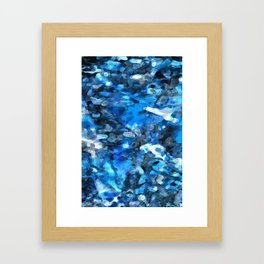 Methadone Bloodstream Framed Art Print