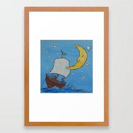 Wynken, Blynken, & Nod Framed Art Print