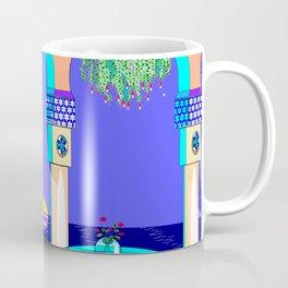 The Mediterranean Garden at Night Coffee Mug