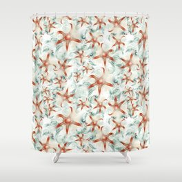 SeaStars Shower Curtain
