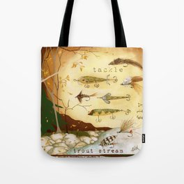 Fishing Tackle Tote Bag