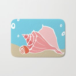 Conch Shells Bath Mat
