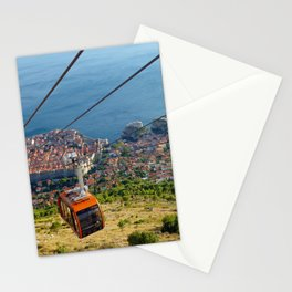 Aerial View of Dubrovnik, Croatia Stationery Cards
