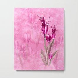 Fairy Tulip Metal Print