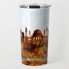Baghdad Iraq Skyline Travel Mug
