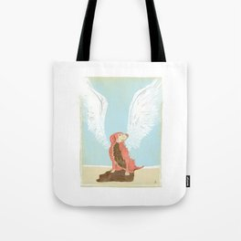All Dogs Go to Heaven (Golden Retriever) Tote Bag