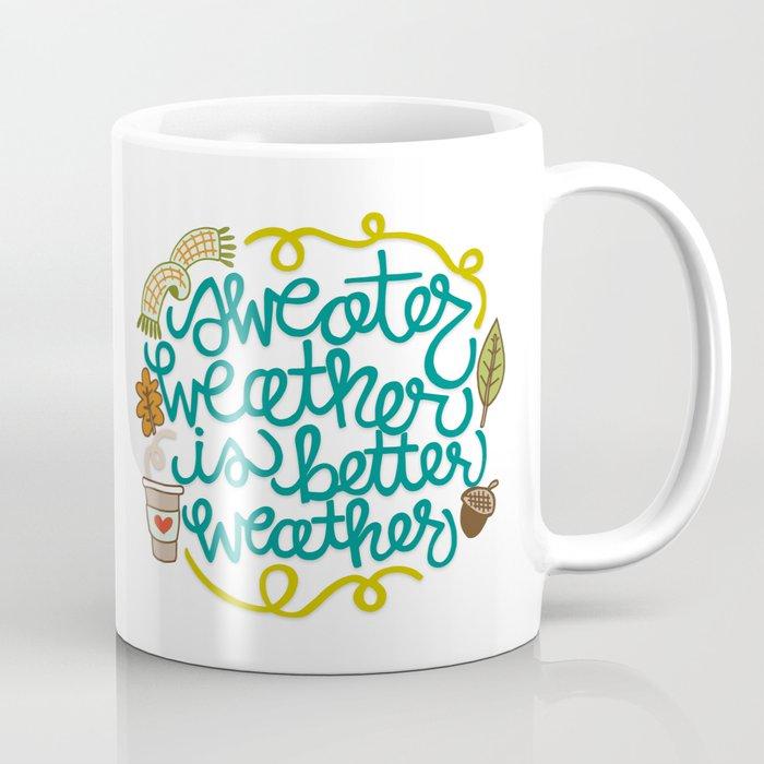 Sweater Weather Coffee Mug