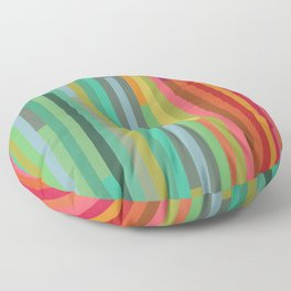 Mod Stripes Floor Pillow